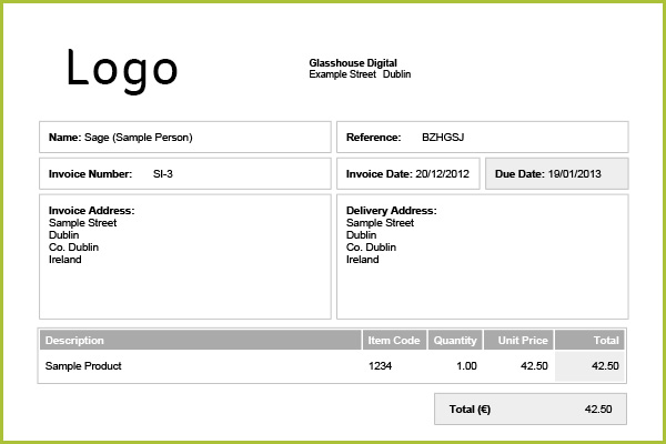 How To Create An Invoice  Sage One